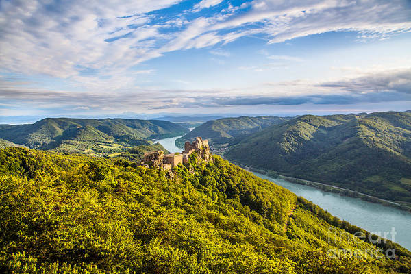 Donau Photograph - Wachau Sunset by JR Photography