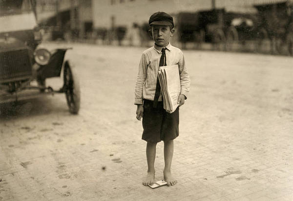 Photograph - Waco Newsboy, 1913 by Granger