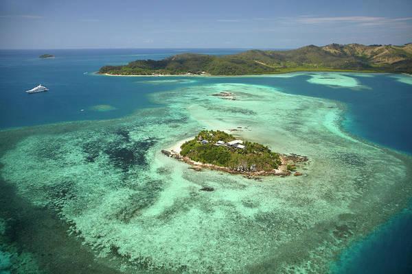Foreshore Photograph - Wadigi Island, Mamanuca Islands, Fiji by David Wall