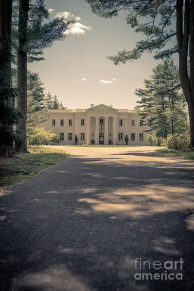Period Photograph - Wadsworth Mansion Middletown Connecticut by Edward Fielding