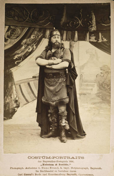 Photograph - Wagner Tristan, 1886 by Granger