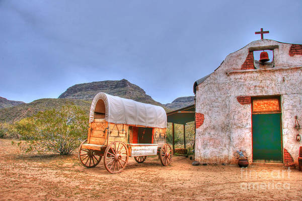 Photograph - Southwest Wagon Church  by Tap On Photo