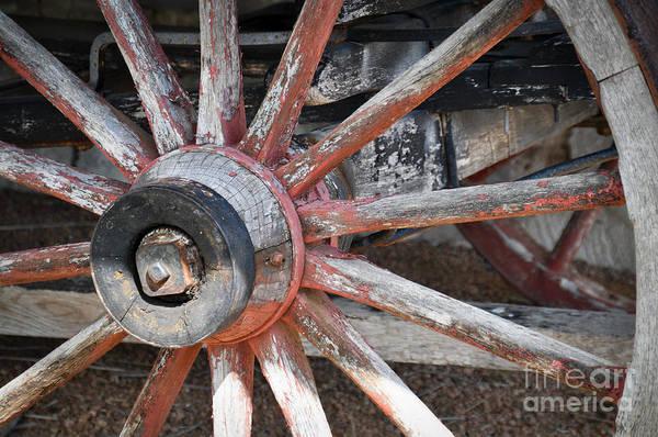 Photograph - Wagon Wheel by Cheryl McClure