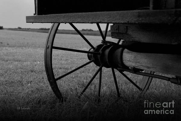 Photograph - Wagon Wheel by E B Schmidt
