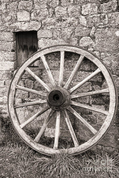 Wall Art - Photograph - Wagon Wheel by Olivier Le Queinec