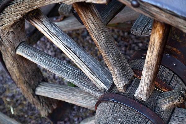 Photograph - Wagon Wheel Sundown by Michael Hope