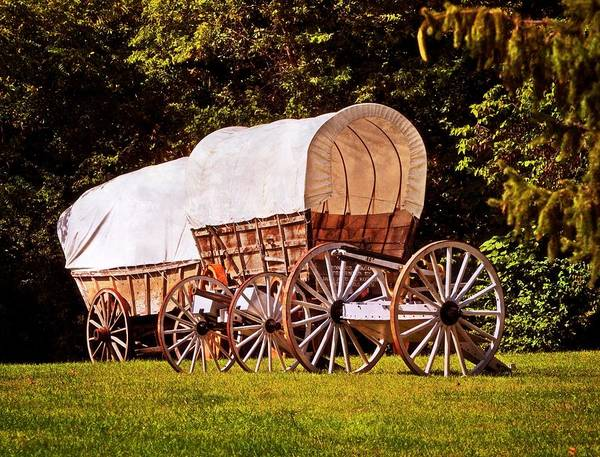 Photograph - Wagons Ho by Marty Koch