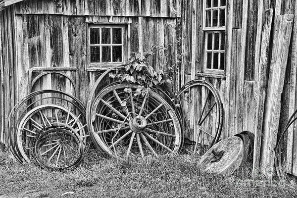 Photograph - Wagons Lost by Crystal Nederman