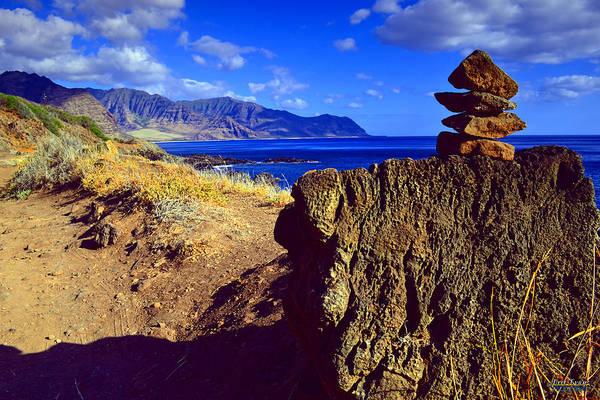 Kaena Photograph - Waianae Mountain Range From Kaena Point by Aloha Art