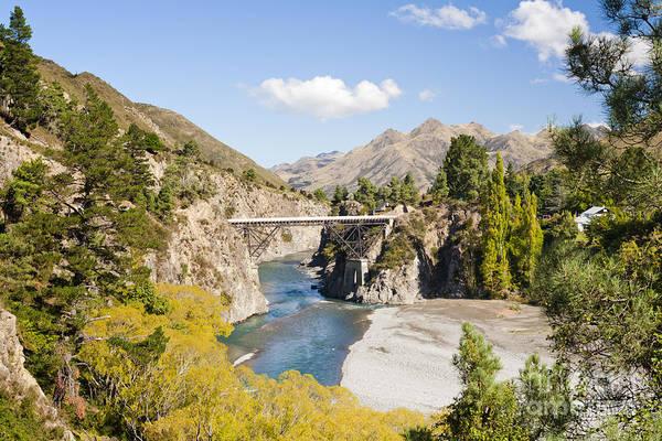 Wall Art - Photograph - Waiau River Hanmer Springs New Zealand by Colin and Linda McKie