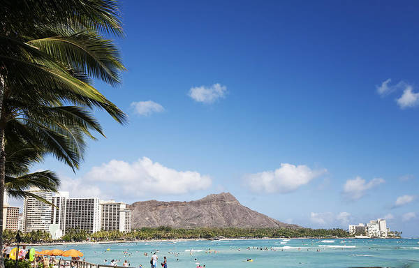 Wall Art - Photograph - Waikiki And Diamond Head by Brandon Tabiolo