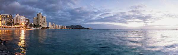 Wall Art - Photograph - Waikiki Beach Basking In The Last by Ian Ludwig