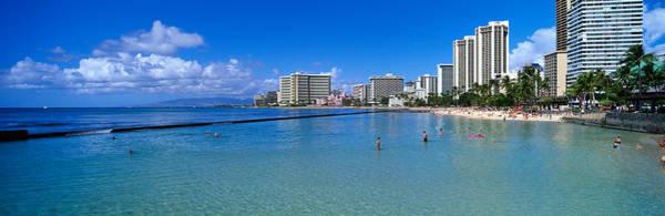 Humid Photograph - Waikiki Beach Honolulu Oahu Hi by Panoramic Images