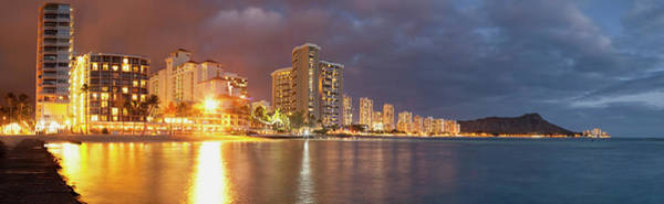 Wall Art - Photograph - Waikiki Beach Just After Sunset by Ian Ludwig