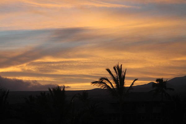 Photograph - Waikoloa Sunrise by Pamela Walton