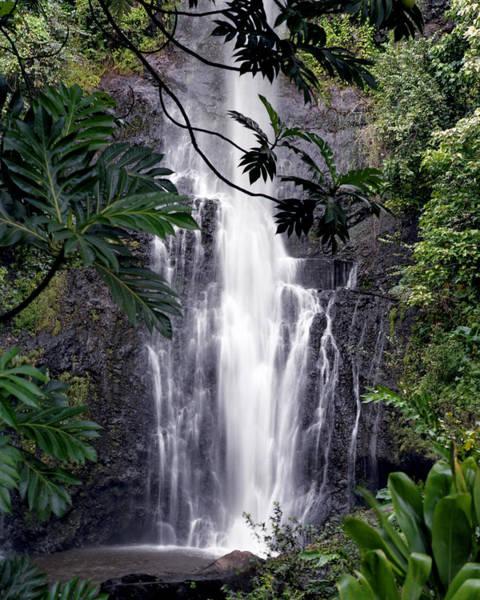 Photograph - Wailua Falls by Harold Rau