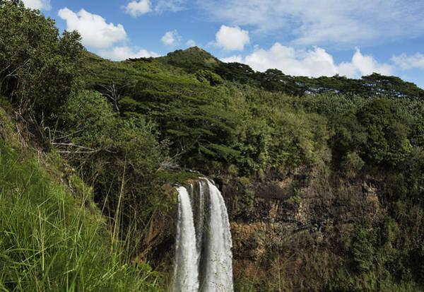 Photograph - Wailua Falls No. 2 by Belinda Greb