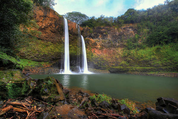 Photograph - Wailua Falls  by Ryan Smith
