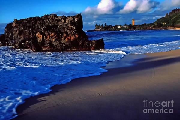Photograph - Waimea Bay Evening by Thomas R Fletcher