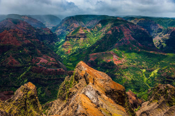 Photograph - Waimea Canyon by Harry Spitz