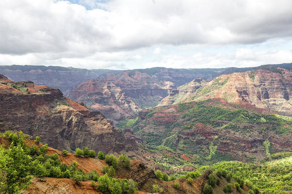 Waimea Canyon Photograph - Waimea Canyon, Kauai, Hawaii by Picturelake
