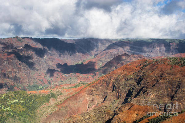 Photograph - Waimea Canyon by Ronald Lutz