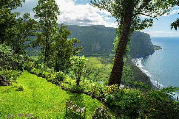 Big Island Photograph - Waipio Valley, Hamakua Coast, Big by Douglas Peebles