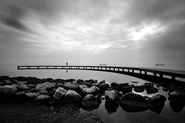 Shipping Photograph - Wait... by Murat Kasim