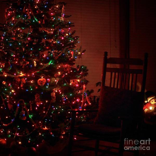Waiting For Christmas - Square Art Print