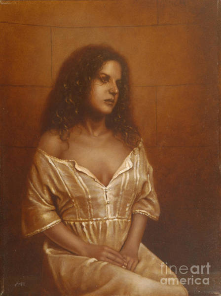 Painting - Waiting For Her Lover by John Silver