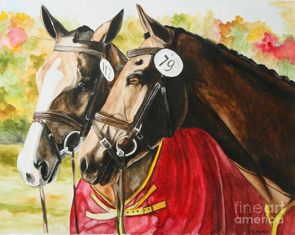 Painting - Waiting For Inspection by Kathy Laughlin