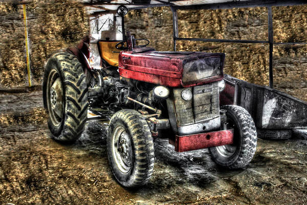 Photograph - Classic Deere Tractor by Doc Braham