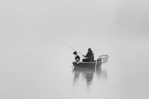 Wall Art - Photograph - Waiting For The Big Catch by Uschi Hermann