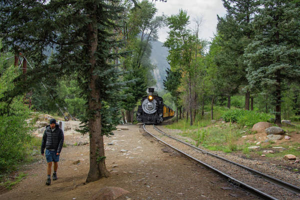 Gauge Photograph - Waiting For The Durango Silverton by Taylor Reilly
