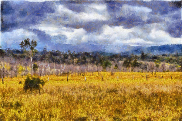 Queensland Digital Art - Waiting For The Rain by Neville  Wright