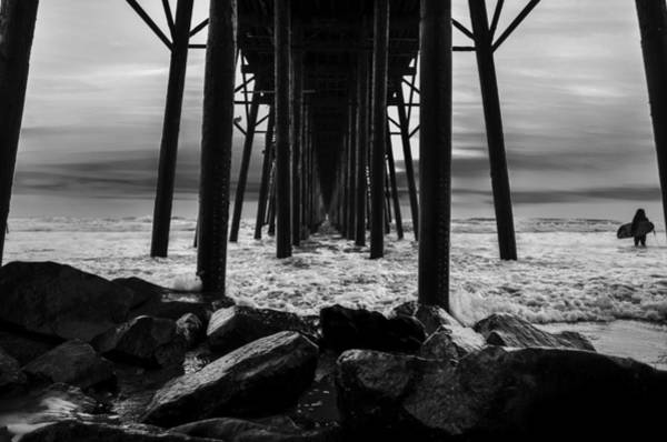 Oceanside Pier Photograph - Waiting For The Wave by Art K