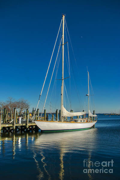 Photograph - Waiting For Warmer Weather At The Dock by Mark Dodd