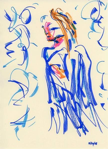 Drawing - Waiting I by Rachel Scott