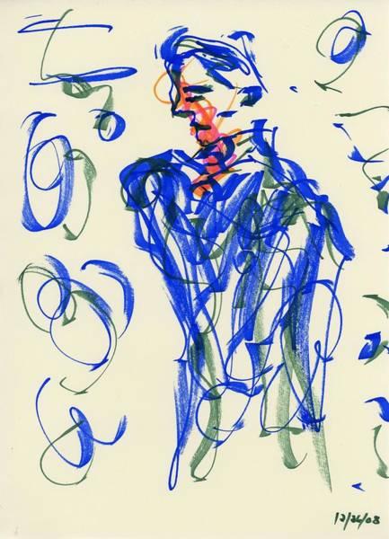 Drawing - Waiting II by Rachel Scott