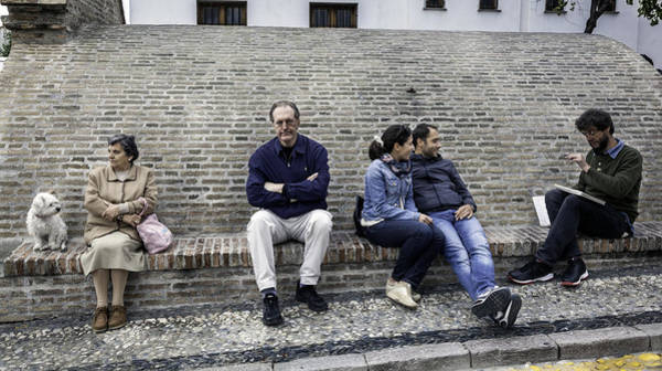 Wall Art - Photograph - Waiting In Granada - Spain by Madeline Ellis