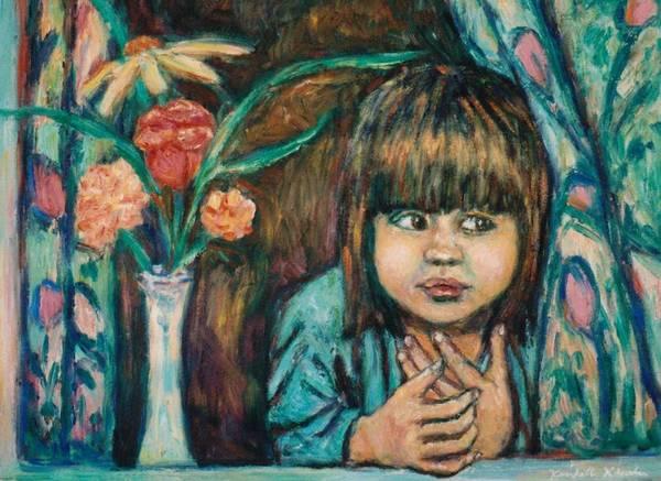 Painting - Waiting by Kendall Kessler