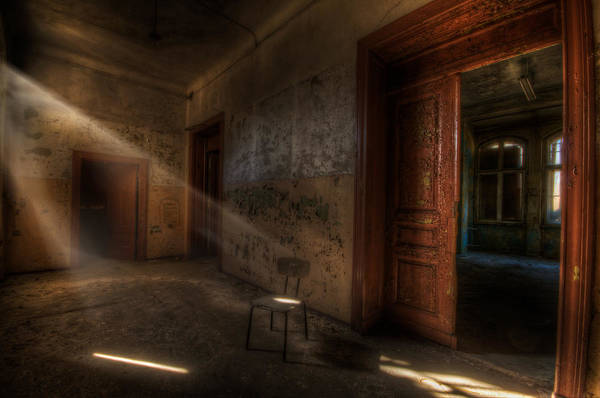 Grimy Wall Art - Digital Art - Waiting  by Nathan Wright