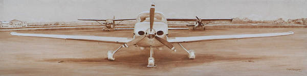 Private Painting - Waiting On The Pilot by Dreyer Wildlife Print Collections