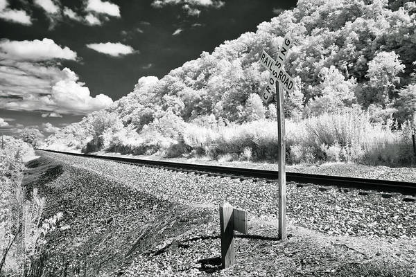 Photograph - Waiting On The Train by Mary Almond
