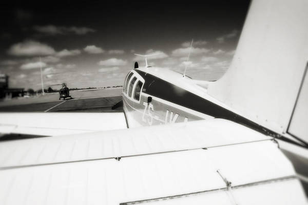 Kimberley Airport Photograph - Waiting To Fly by Paul Job