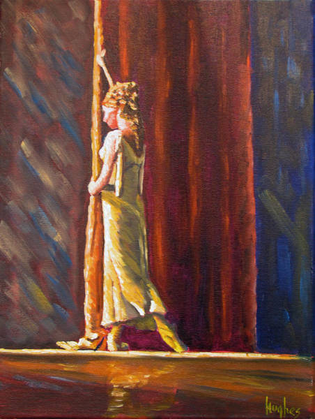 Painting - Waiting To Perform by Kevin Hughes