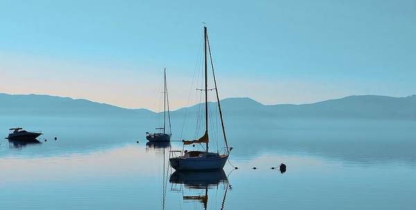 Photograph - Waiting To Sail by Marilyn MacCrakin