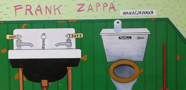 Frank Zappa Painting - Waka/jawaka by Don Parker
