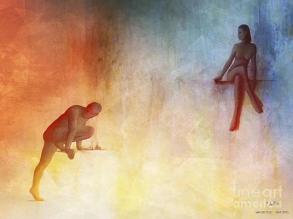 Wall Art - Digital Art - Waking Hells by Pedro L Gili