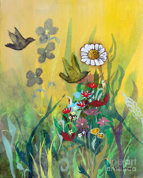 Painting - Waking Up To Sunshine by Robin Maria Pedrero